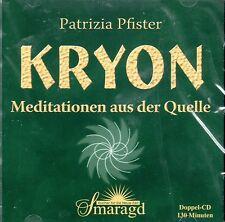 KRYON - Meditationen aus der Quelle mit Patrizia Pfister - 2 CDs NEU OVP