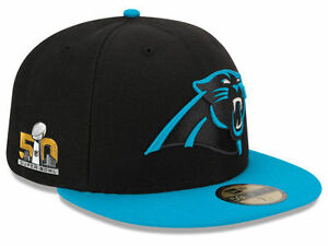 Official Super Bowl 50 Superbowl Carolina Panthers New Era 59FIFTY Fitted Hat
