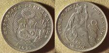 Peru : 1929 1/2 Sol Ch.Au Luster #216 Ir7826