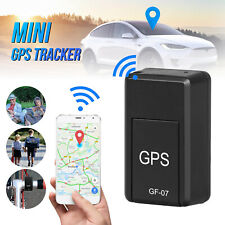 Gf07 Mini Gps Real Time Car Locator Tracker- Magnetic Gsm/Gprs Tracking Voice
