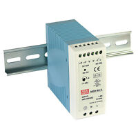Mean Well MDR-60-48 AC to DC DIN-Rail Power Supply 48 Volt 1.25 Amp 60 Watt