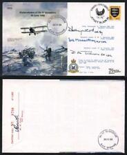 B10c Disbandment of No.57 Squadron Crew Signed (U)
