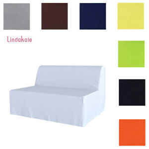 Custom Made Cover Fits IKEA LYCKSELE Sofa Bed, Replace Sofa Cover, 47 Fabrics
