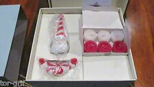 PARTYLITE SWEETS & TREATS GIFT SET P95294 ~SANTA CANDLE SNUFFER & TEAS CHRISTMAS