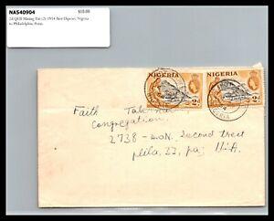 GP GOLDPATH: NIGERIA COVER 1954 _CV731_P09