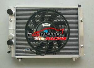 Radiator +FAN For Lancia Delta HF Integrale Evolution 8V/16V/EVO Turbo 1987-1995
