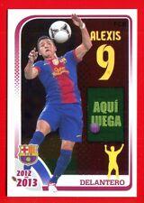 FC BARCELONA 2012-2013 Panini - Figurina-Sticker n. 138 - ALEXIS -New