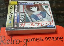 Neon Genesis Evangelion Iron Maiden SEGA Saturn Japan Ntsc-j Authentic