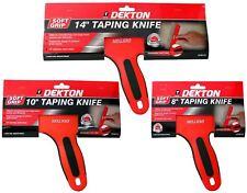 Dekton Stainless Steel Taping Knife Spatula Scraper Filling Drywall Plastering