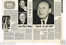Coupure de presse Clipping 1977 (2 pages) Bourvil par Jean-Pierre Mocky
