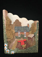 "Lilliput Lane Woodside Farm Wall Hanger 5""H x 5""L x 1""W"