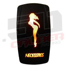 Orange Led Power Button Jeep Rubicon SEMA no reserve corvette Auto Parts Nitrous