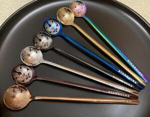 2021 Hot Starbucks Sakura Coffee mug Cup Spoons Stainless steel Spoons 170mm NEW