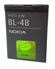 Original NOKIA BL-4B Akku 2630 2660 2760 5000 6111 7070 7370 7373 7500 N76 NEU