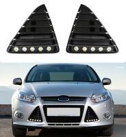 LED Tagfahrlicht Flex-Design + R87 Ford Focus MK3 mit Zulassung + Gitter