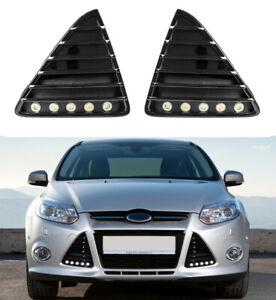 LED Tagfahrlicht Flex-Design R87 für Ford Focus MK3 mit Zulassung + Gitter