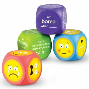NEW Learning Resources Soft Foam Emoji Cubes? Kids Children Toy AU