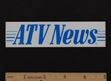 ATV NEWS STICKER Decal ATC Honda Yamaha Kawasaki Suzuki Vintage Motocross