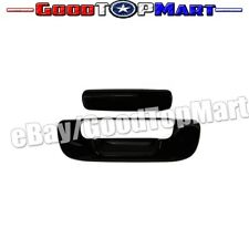 For Dodge RAM 1500 2002-2005 2006 2007 2008 BLACK Tailgate Cover w/out Keyhole
