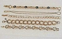 "Tammey Jewels Scorpio bracelet. Gold tone 7 1/2"", Avon, Premier Designs, Trifari"
