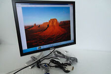 "Dell 2007FP UltraSharp 20"" LCD Monitor w/4-Port USB Hub VGA 16ms DVI C9536 G324H"