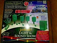 Holiday Brilliant Spectacular Light & Sound Show Xmas App bluetooth 16 lightshow