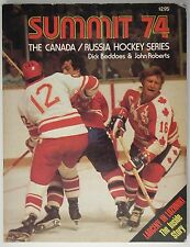 Summit 74...The Canada / Russia Hockey Series WHA