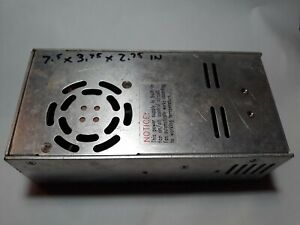 MEAN WELL S-240-12 POWER SUPPLY 12VOLTS @18AMPS DC
