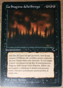 Magic MTG The Dark - Season of the Witch SP/LP Italian FBB vintage black rare!