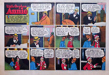 Little Orphan Annie by Gray - large half-page color Sunday comic - Jan. 30, 1944