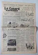 ANCIEN JOURNAL -  LE CANARD ENCHAINE N° 1728 DU 2 DECEMBRE 1953 *
