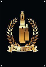 E-CIG,VAPING,CLOUD CHASING,VAPE BAR,MAN CAVE,VAPE GIFT,  Metal Sign,no 843