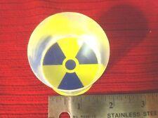 "Bicron BC412 Round Scintillator Plastic for 1-1/2 inch PMT detectors 1.6""X2.25"""