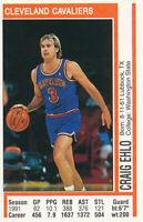 Craig Ehlo 1991-92 Panini Album Stickers #122 Cavaliers basketball card