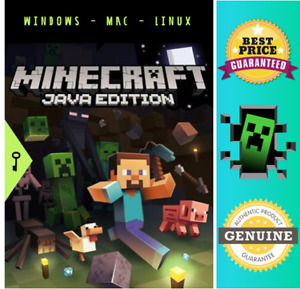 Minecraft Java Edition New Key Code 🔑 Region Free ✔ Multi Language [No CD/DVD]