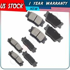 Front + Rear Brake Pads For 2008 2009 2010 2011 2012 - 2015 Toyota Camry Avalon