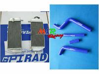 Aluminum Radiator&  Hose for Yamaha YZ125 YZ 125 2005-2014 06 07 08 09 10 11 12