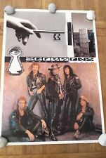 SCORPIONS Crazy World Giant POSTER 34x24 inches