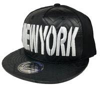 New York Hip Hop Hiphop Urban Wear Cap Hat Baseball Fitted Headwear SNAPBACK