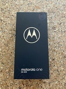 Motorola One 5G Ace - 128GB - Frosted Silver Factory Unlocked - FREE Shipping