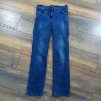 Womens Next 10R Lift Slim & Shape Slim Straight Blue Jeans Ladies Pockets