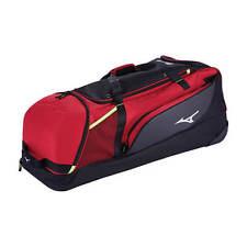 Mizuno Samurai Catcher S Wheeled Equipment Bag Red Black 360271