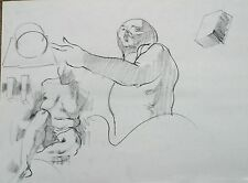 Harry Carmean life drawing of female model & analysis of old master