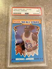 1990 Fleer All-Star Michael Jordan #5 PSA 9 Mint