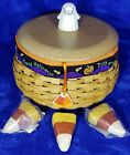 STUNNER ~ Vintage & Rare Longaberger 2004 Happy Halloween COMBO Basket  #10709