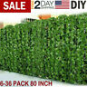 6-36 PCS Artificial Ivy Leaf Plants Fake Hanging Garland Plants Vine Home Decor