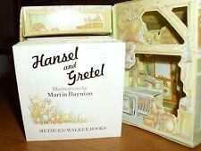 RARE/HANSEL & GRETEL/CARD WITCH COTTAGE BOOK/METHUEN 1982/CHILDRENS/FAIRY TALES