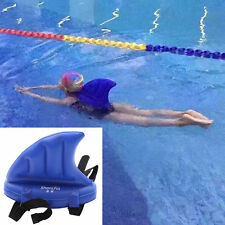 Kid Swimfin Swim Fin Shark Swimming Pool Buoyancy Float Inflatable Aid