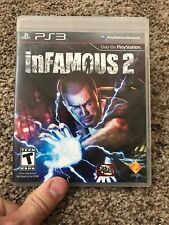 Infamous 2 (Sony Playstation 3) PS3 Game Disc And Case. Tested!