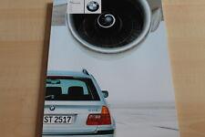 101458) BMW 3er Reihe E46 Touring - Belgien - Prospekt 01/2001